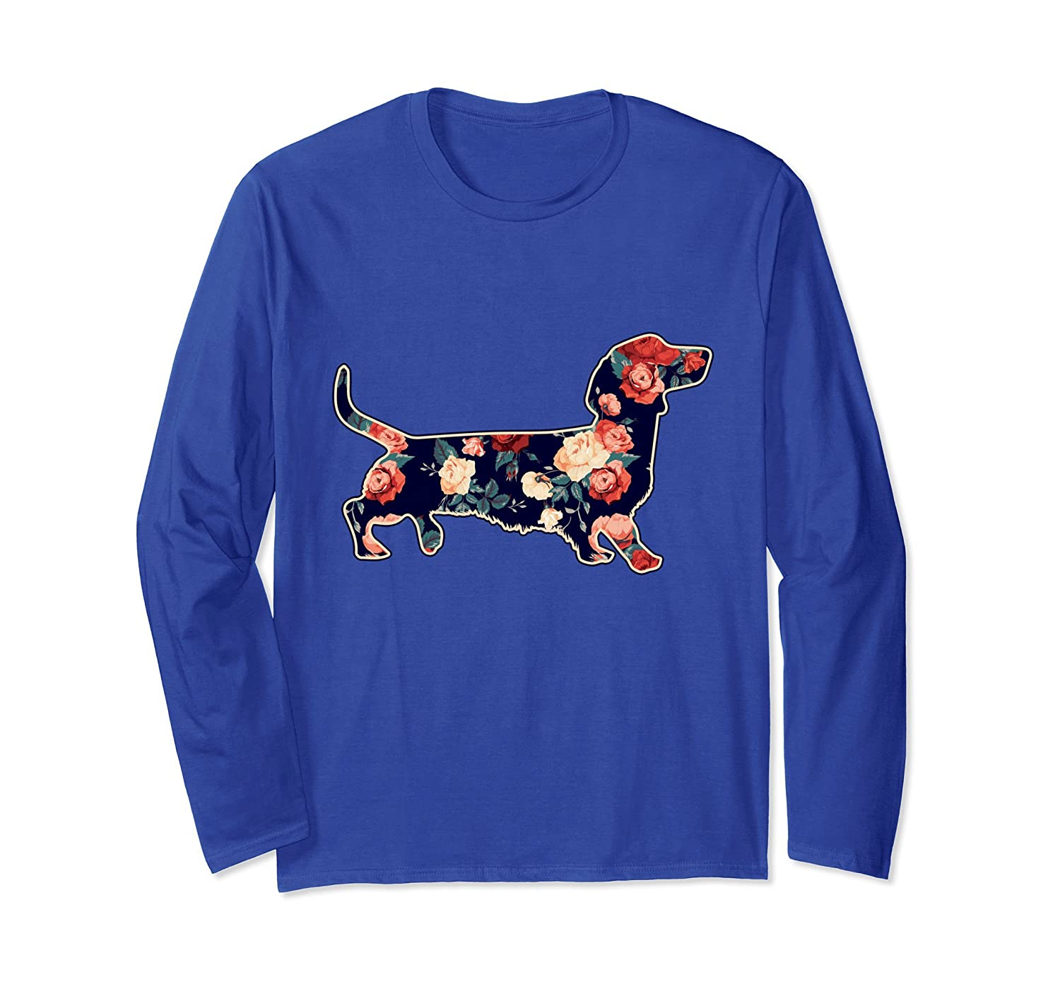 Chiweenie Retro Roses Floral Flower T-Shirt Puppy Lover-alottee gift