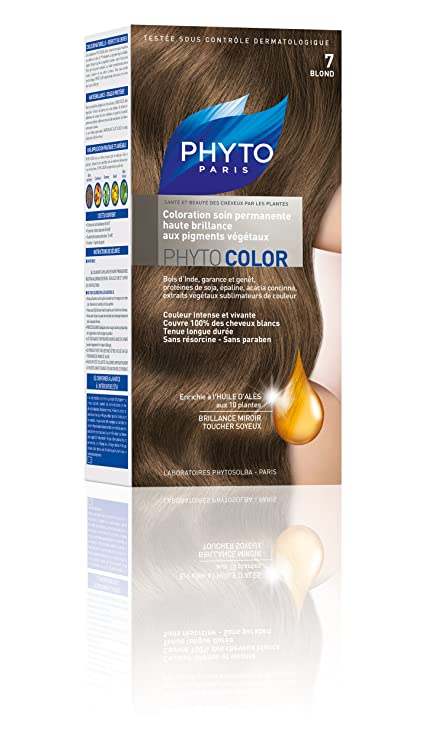 shampoing colorant phyto color