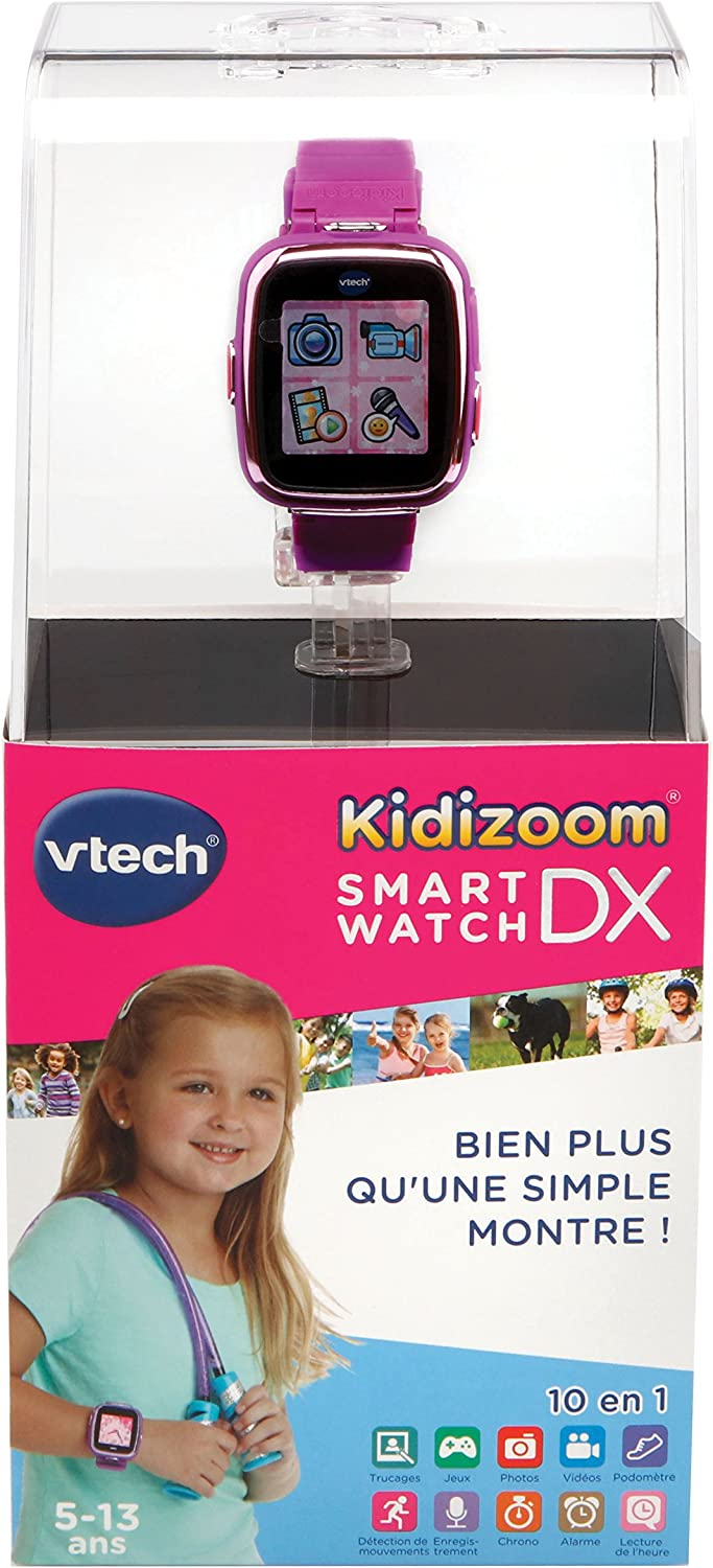 Amazon.es: VTech Kidizoom Smartwatch Connect DX mauve ...