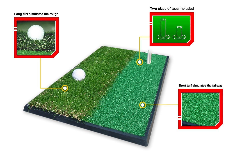 3 in 1 Practice Mat - Golfabschlagsmatte