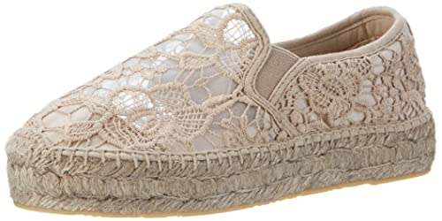 Replay Women's Marnet Espadrilles Grey Size: 3 UK