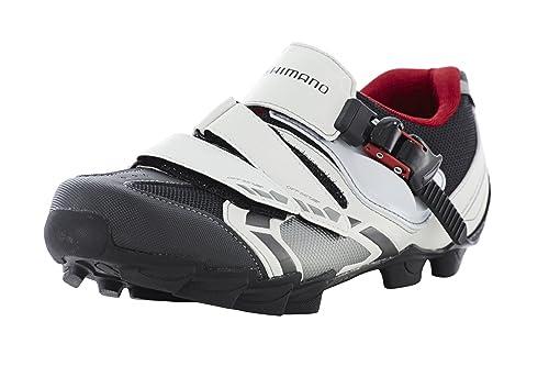 Zapatillas MTB Shimano SH-M088W blanco/negro para hombre (Tamaño: 52)