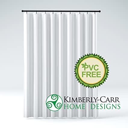 EXTRA LONG Size THE SHOWER CURTAIN LINER Hotel Quality Mildew Resistant Washable Fabric Water