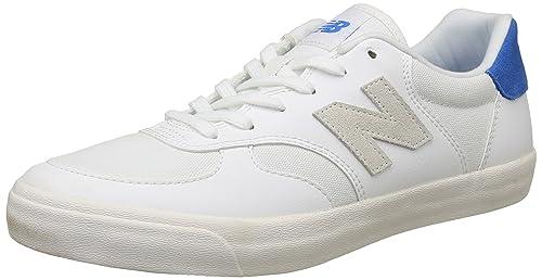 Cortés Escabullirse fósil  Buy new balance Men's 300 White Sneakers-10 UK/India (44.5 EU)(10.5 US)  (CRT300XA) at Amazon.in