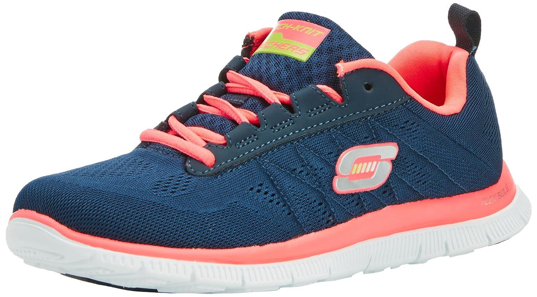 Skechers Damen Flex Appeal Sweet Spot Sneaker, Pink Purple  35 EU|Blau (Nvhp)