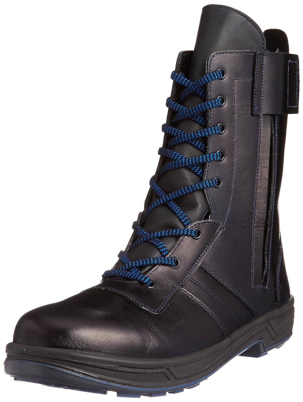 安全靴 シモン トリセオ 8533 黒 外チャック付 [23.5cm〜28.0cm] (1823330)