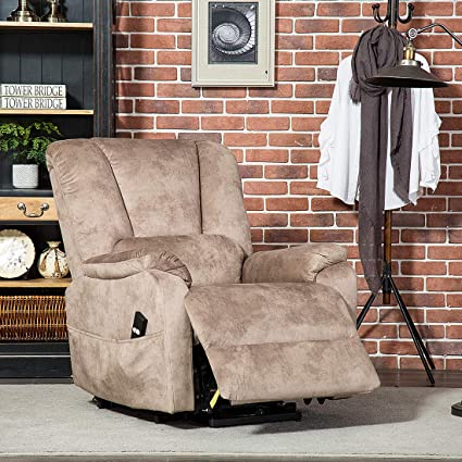 Etonnant CANMOV Power Lift Recliner Chair For Elderly  Heavy Duty And Safety Motion  Reclining Mechanism