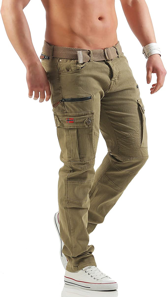 Geographical Norway POLOGNE Lange Cargo Hose Freizeit
