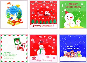 300 Pcs Cookie Candy Bags Self Adhesive Bakery Decorating bags Biscuit Roasting Gift DIY Plastic Bag for Merry Chrismas Party