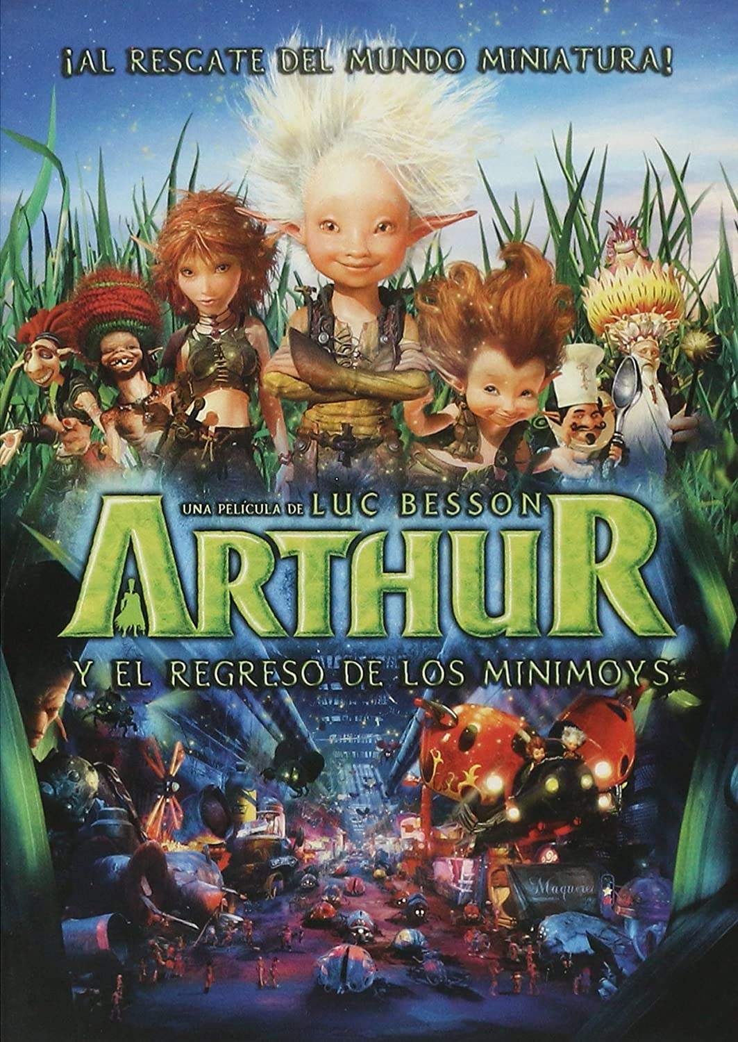 Amazon Com Arthur Y El Regreso De Los Minimoys Movies Tv