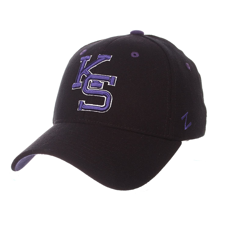 Zephyr Men 's Kansas State Wildcats ZH Zwoolストレッチフィット帽子 Small  B01NA6N302