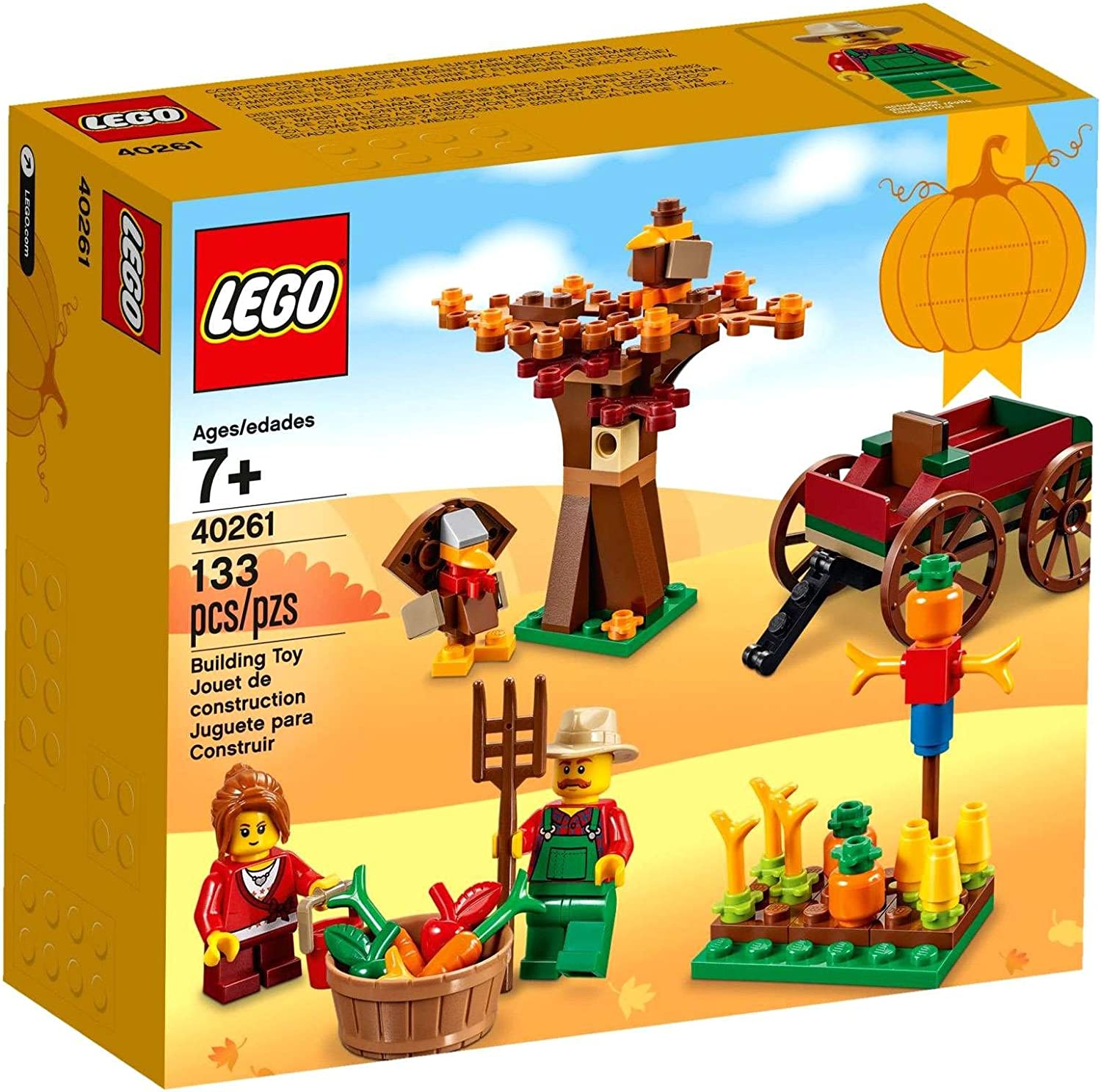 NEW /& SEALED 2017 LIMITED RELEASE LEGO SEASONAL THANKSGIVING HARVEST 40261