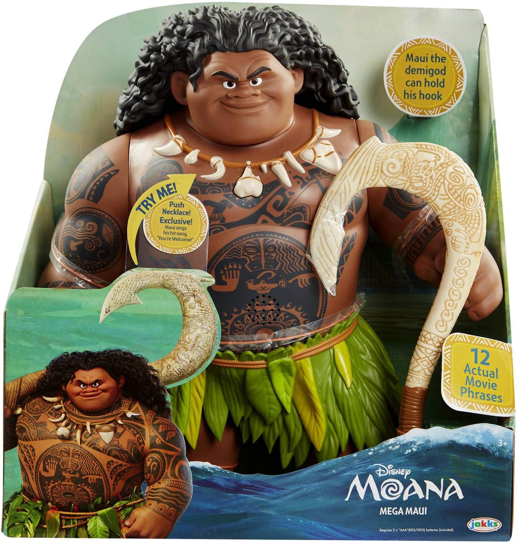 Disney Movie Moana and Maui Plush Toys Dolls 2 Comes Together 8 inch