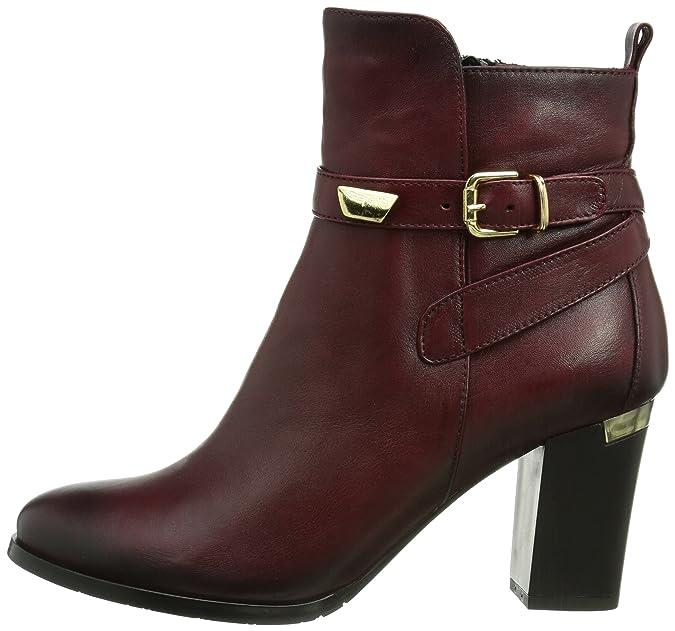 Andrea Conti 0388502054, Botines para Mujer, Vino, 0 EU: Amazon.es: Zapatos y complementos