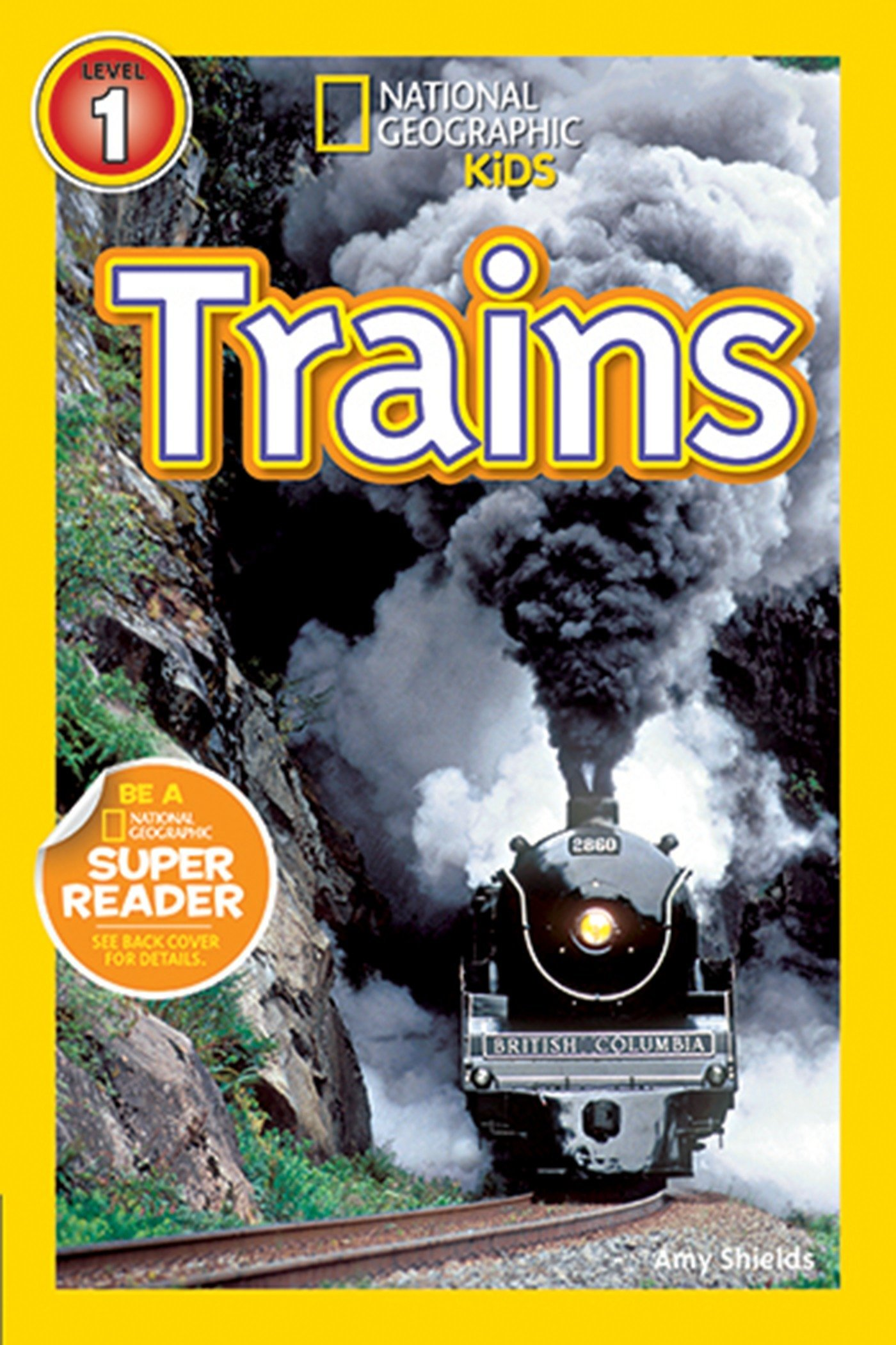 Read Online National Geographic Readers: Trains PDF