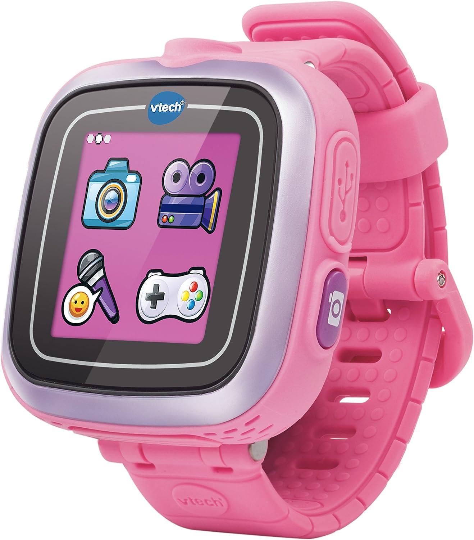 VTech - Kidizoom Reloj Inteligente Infantil, Color Rosa, versión española (3480-161857)