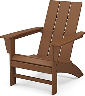 product image for POLYWOOD AD420TE Modern Adirondack Chair, Teak