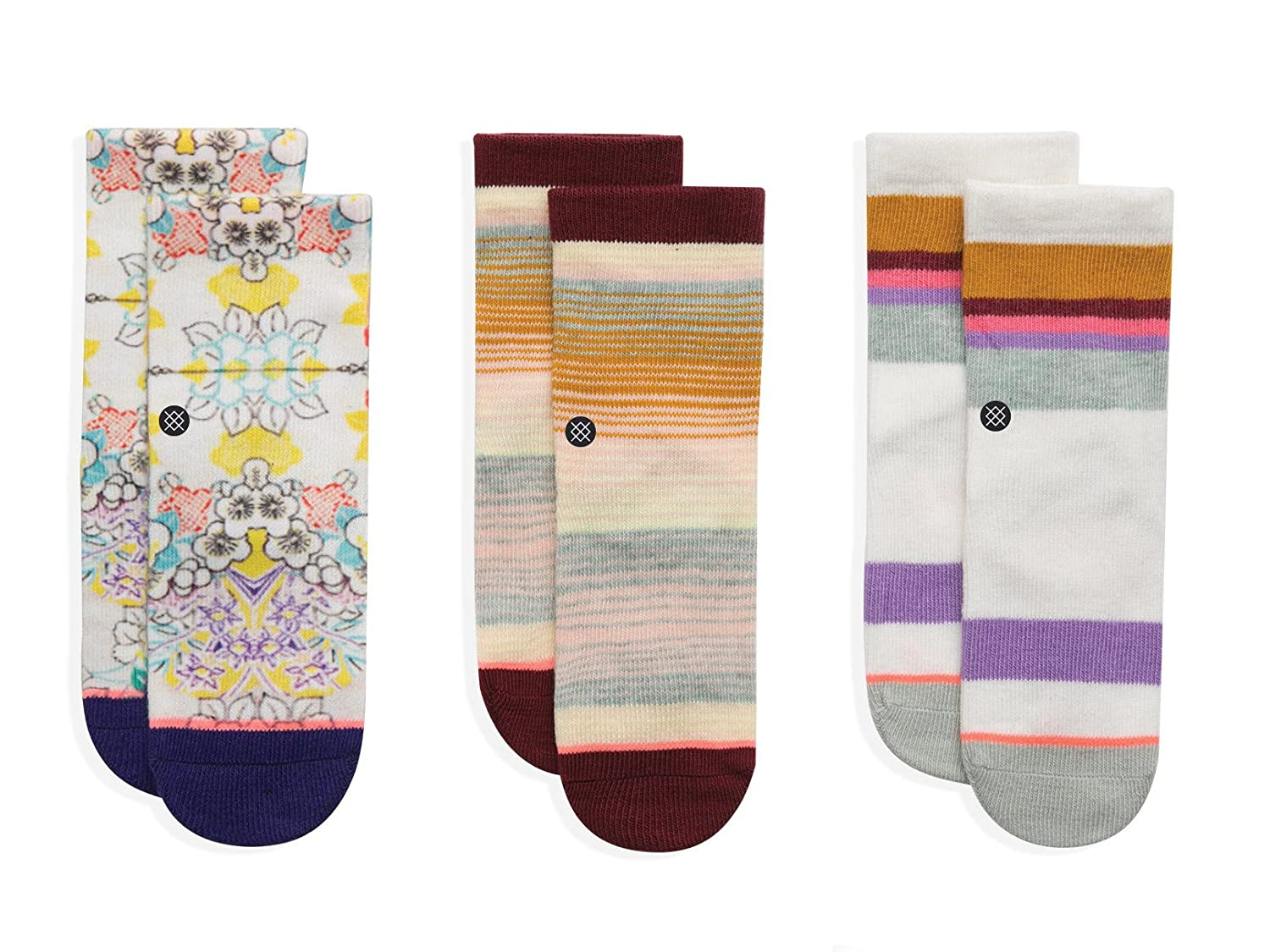 Stance Toddler Girls' Jiggy Socks Box Set Multi 1-2 Years t110a17se2