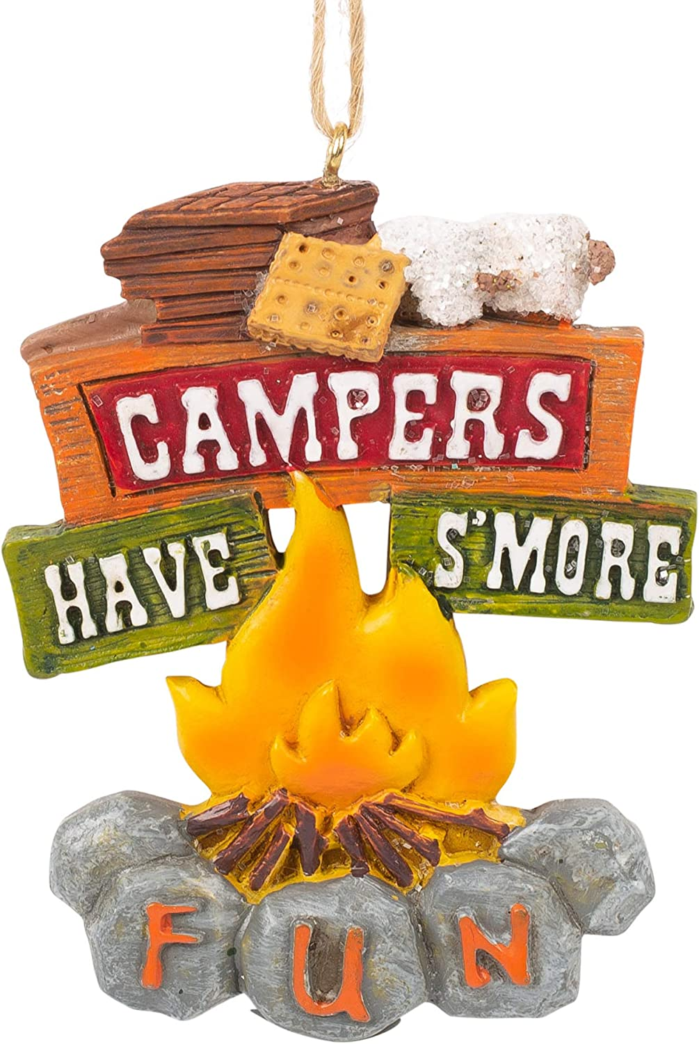 Midwest-CBK Campers Have S'more Fun Ornament