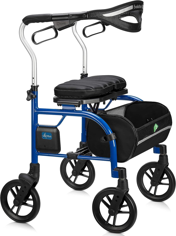 Amazon.com: Evolution Trillium - Andador ligero con asiento ...