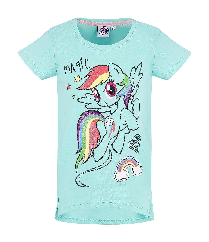 Turchese Hasbro My Little Pony Ragazze Maglietta Manica Corta