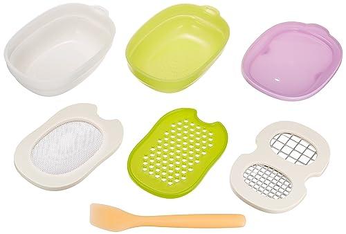 コンビ ベビーレーベル 離乳食ナビゲート 調理セット