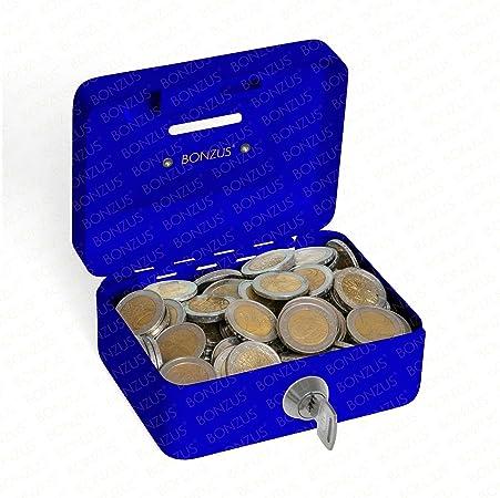 Minicaja para el dinero, minihucha BZ-17 de Bonzus® con ranura para las monedas: Amazon.es: Hogar