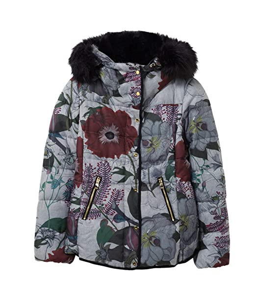 Amazon.com: Desigual - Chaqueta de invierno: Clothing