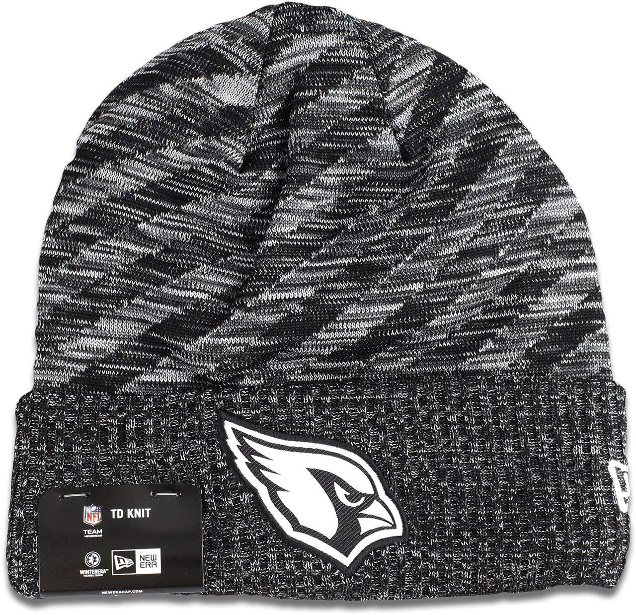 New Era NFL17 Sport Knit Bommelm/ütze Atlanta Falcons Schwarz