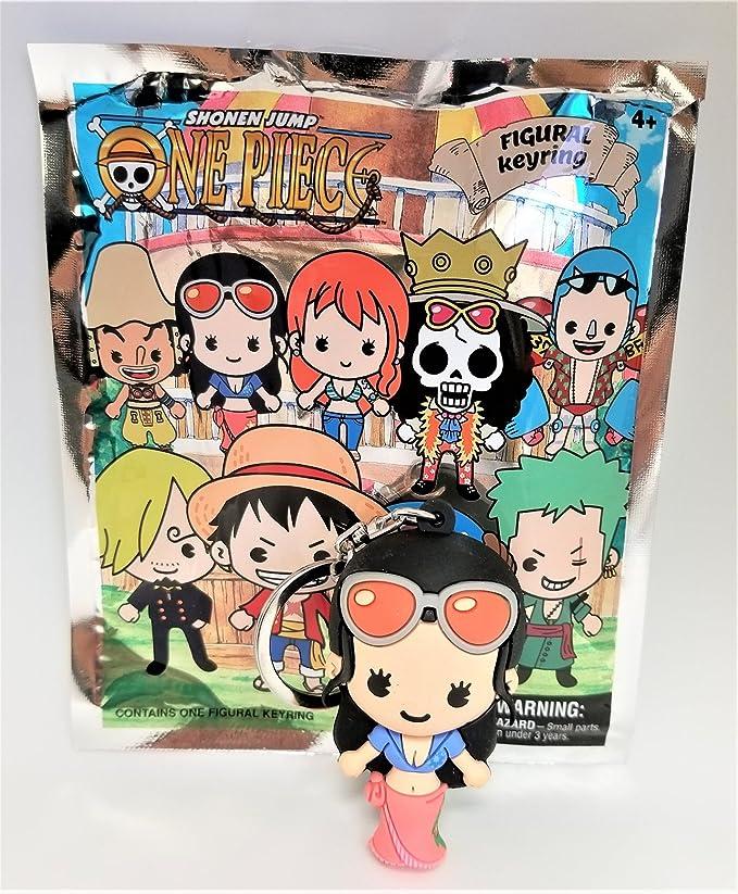 Robin Shonen Jump 3-D Figural Keychain Key Chain Anime Manga One Piece NEW