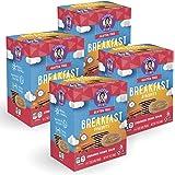 Goodie Girl Cookies Cinnamon Brown Sugar Breakfast Biscuits, Gluten Free, Peanut Free, Vegan, Kosher (16 Biscuits/Box, Includes 4 Boxes)