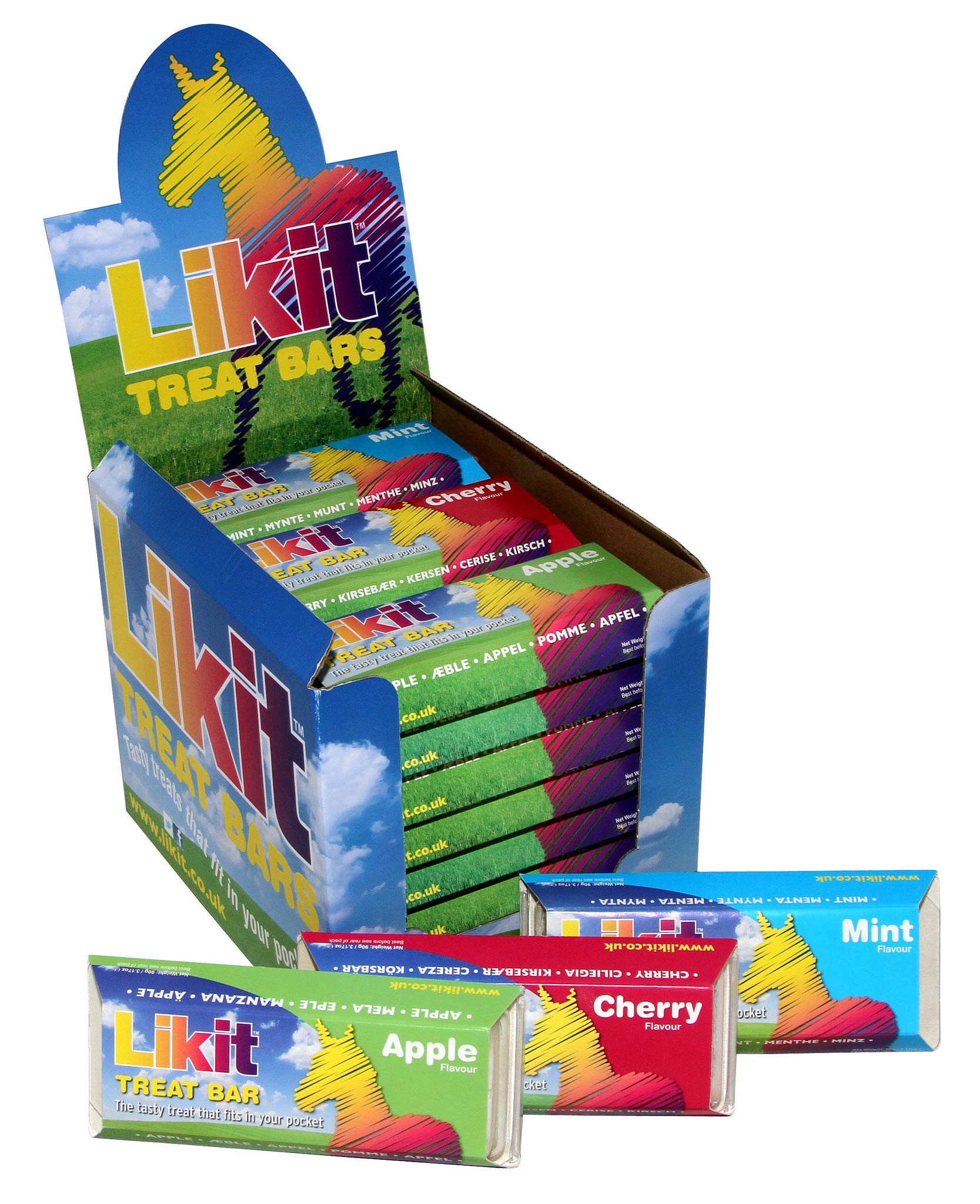 Likit Treat Bar - Mint, Cherry and Apple - 3 pack by Waldhausen