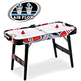 """Foldable 48"""" Air Powered Hockey Game Table With UL Certified Motor"""