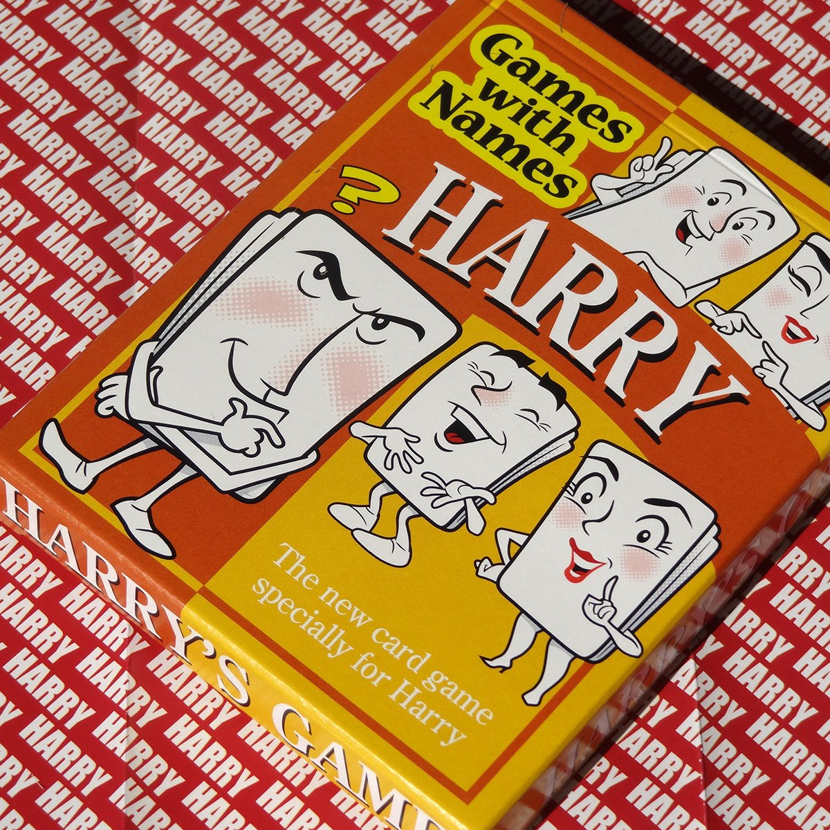 Ideal As a Boys Stocking Stuffer or a Secret Santa or Christmas Gift for Men with the Name Harry HARRYS GAME Especially for People Called Harry First Name Games