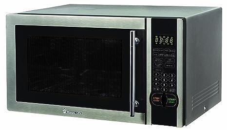 Amazon.com: Magic Chef mcm1110st 1.1 pies cúbicos 1000-Watt ...