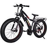 Addmotor MOTAN 1000W Electric Bicycles 17.5AH 30MPH Electric Bikes Bafang BBSHD Middle Hub Brushless Motor Panasonic Lithium Battery Fat Bikes Mountain M-5800 E-bikes