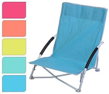 Silla de playa playa - Silla plegable de camping plegable ...