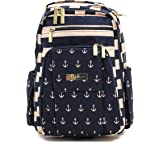 Ju-Ju-Be Legacy Nautical Collection Be Right Back Backpack Diaper Bag, The Commodore