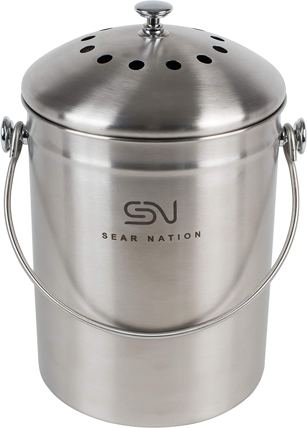 Amazon.com: Sear Nation - Cubo de basura para compost de ...