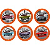 Brooklyn Beans Bold Variety Pack Single-Cup Coffee for Keurig K-Cup Brewers, 40 Count