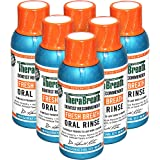 TheraBreath Dentist Formulated Fresh Breath Oral Rinse, Icy Mint Flavor, 3 Ounce Trial and Travel Size (Pack of 6)