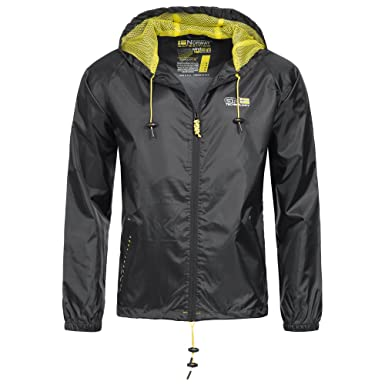 Geographical Norway Nijak Chaqueta para lluvia para hombre ...