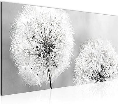 Bild Bilder Wandbild XXL Kunstdruck Leinwand aus Vlies 120x80 cm Pusteblume