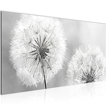prestigeart Bilder Blumen Pusteblume Wandbild Vlies - Leinwand Bild ...