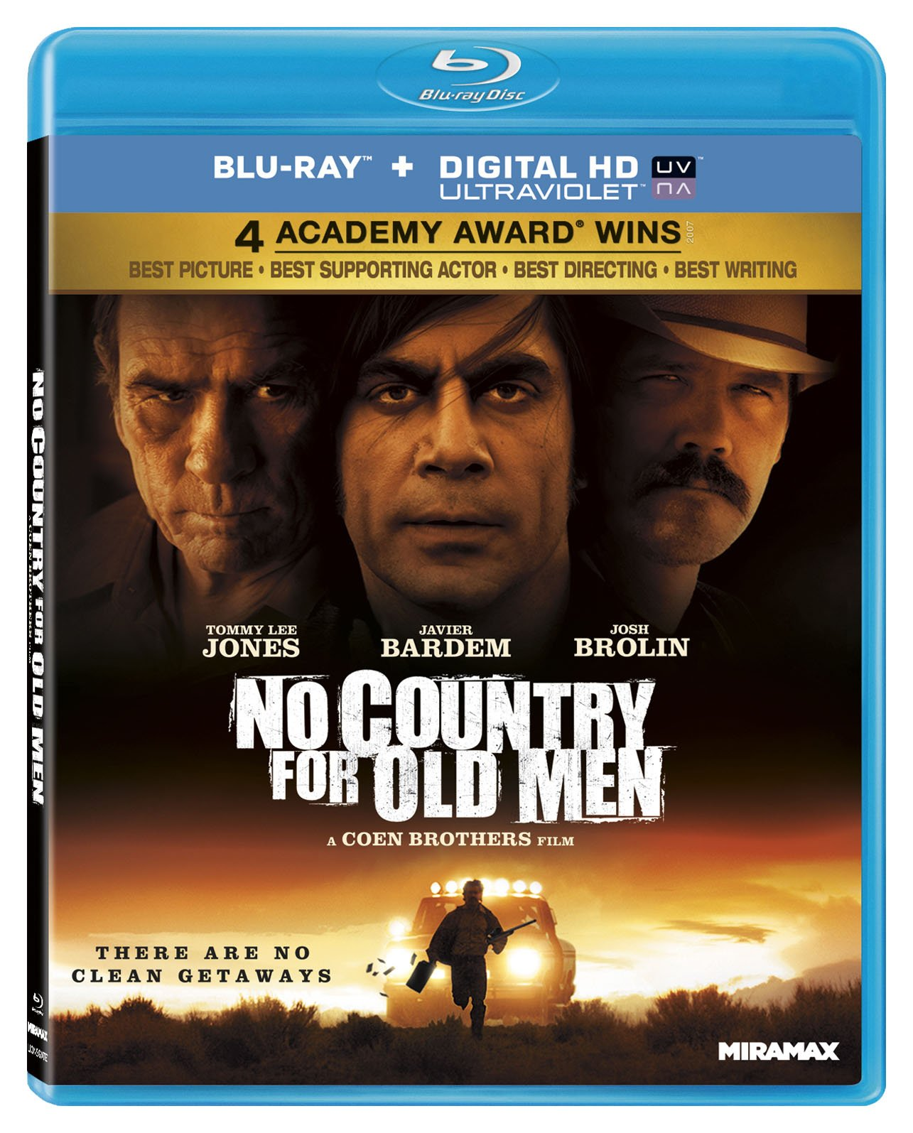 Blu-ray : No Country For Old Men (Widescreen, AC-3, Digital Theater System)