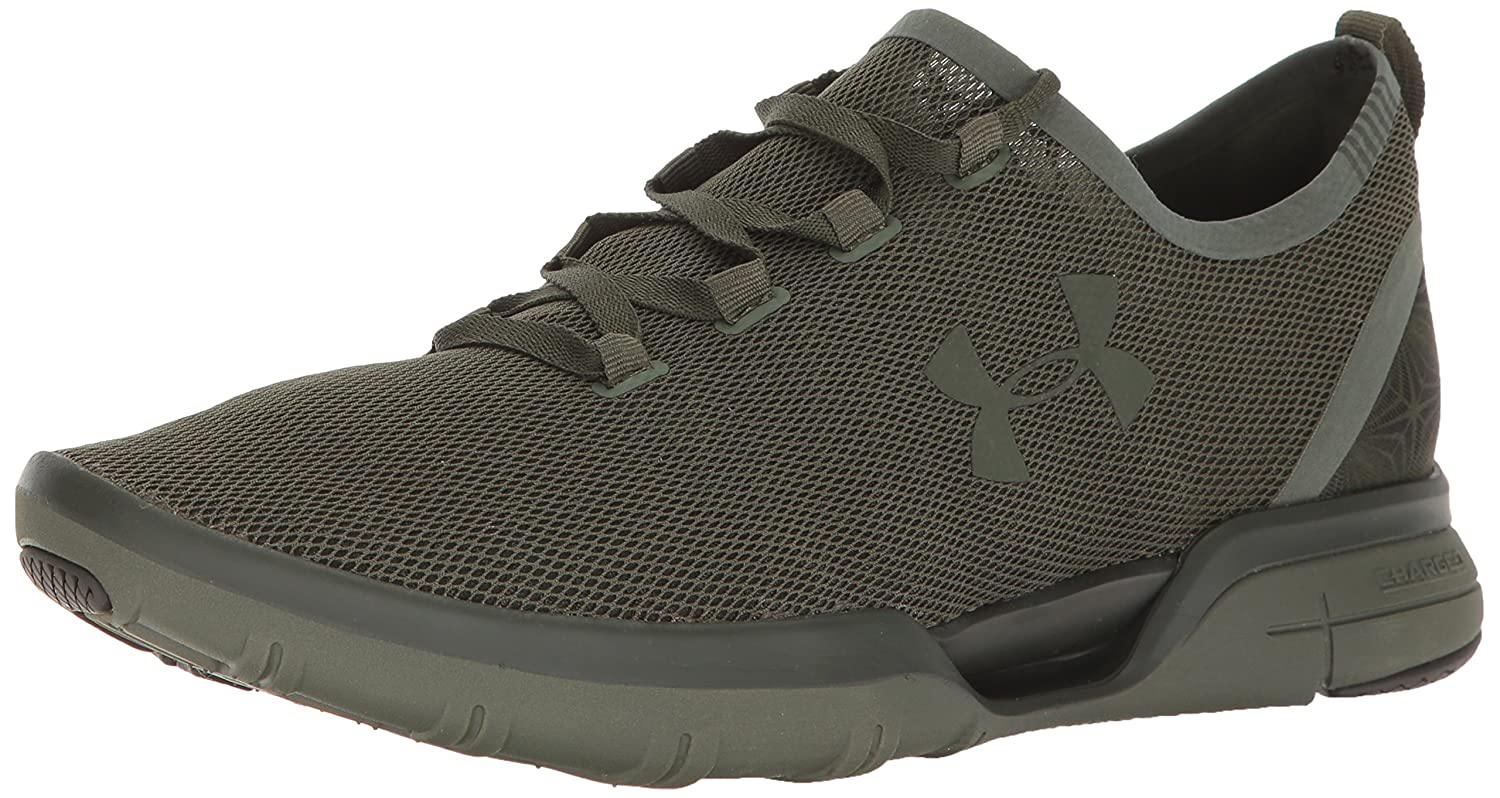 Under Armour Charged Coolswitch Run Hombre Zapatillas Negro *|Khaki