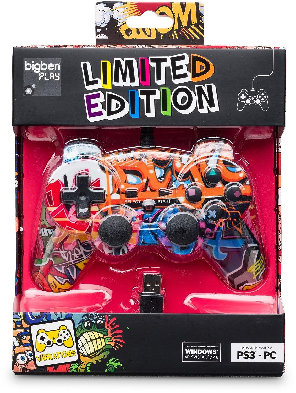 PS3 - Controller Limited Edition 'Street II' Bigben Interactive GmbH BB327496 Zubehör Gamepad / Controller