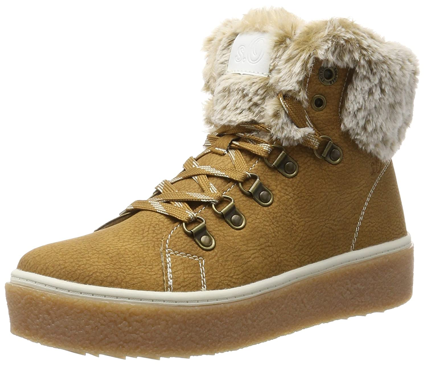 s.Oliver 26226, Bottes Bottes de 4164 Femme Neige Femme Marron (Muscat) 43e284f - therethere.space