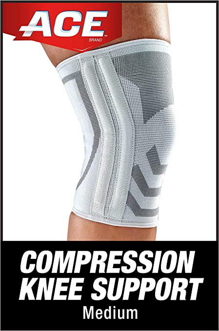 Amazon Com Ace Compression Knee Brace With Side Stabilizer Helps Support Weak Injured Arthritic Or Sore Knee Satisfaction Guarantee Health Personal Care