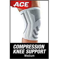 ACE-207354 Compression Knee Brace with Side Stabilizer, Helps support weak, injured, arthritic or sore knee…